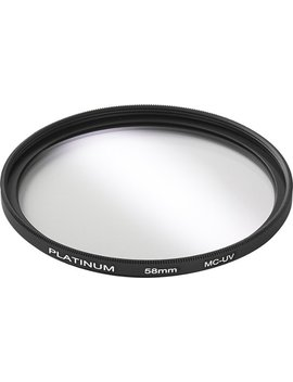 58mm Uv Lens Filter by Platinum