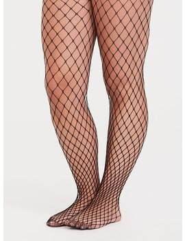 Black Fishnet Tights by Torrid