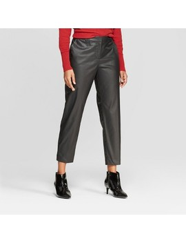 Women's Straight Leg Cropped Trouser   Prologue™ Black by Prologue