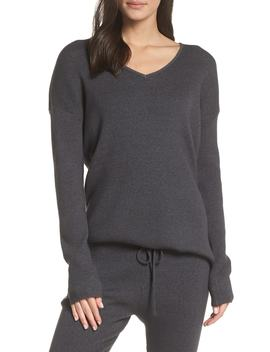 Rib Knit Pullover by Something Navy
