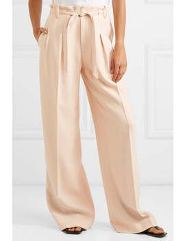 Woodcourt Alpaca And Wool Blend Wide Leg Pants by Roland Mouret
