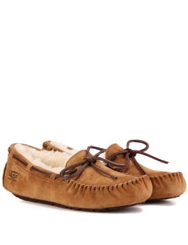 Mokassins Dakota Aus Veloursleder Mit Shearling Futter by Ugg
