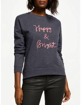 Boden Arabella Sweatshirt, Happy And Bright by Boden