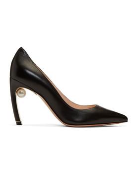 Black Pearl Mira Heels by Nicholas Kirkwood