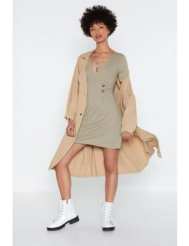 Sweet Thing Button Dress by Nasty Gal