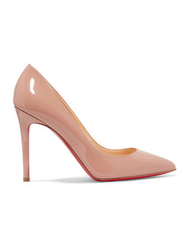 Pigalle 100 Pumps Aus Lackleder by Christian Louboutin