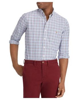 Polo Plaid Oxford Classic Fit Shirt by Polo Ralph Lauren