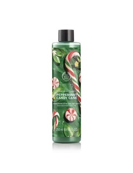 Peppermint Candy Cane Bath Foam by The Body Shop