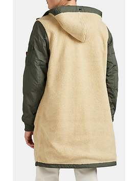M 47 Reversible Sherpa & Tech Faille Jacket by Alpha Industries