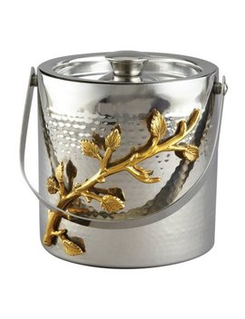 Heim Concept Gilt Leaf Double Wall Ice Bucket by Heim Concept