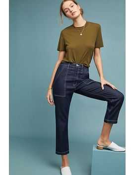 3x1 Sabine Ultra High Rise Tapered Chino Pants by 3x1