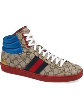 New Ace High Gg Supreme Sneaker by Gucci