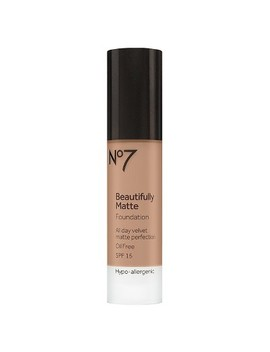 No7® Beautifully Matte Foundation Spf 15   Light Shades   1oz by No7