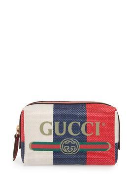 Linea Merida Canvas Cosmetics Case by Gucci