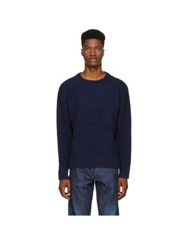 Navy Fisherman Sweater by Levi's Made & Crafted