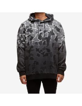 Adidas Camouflage Dip Dyed Hoodie Multi Coloured by Adidas