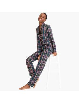 Vintage Pajama Set In J.Crew Signature Tartan by J.Crew