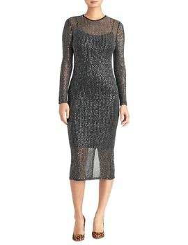 Sequin Midi Dress by Rachel Roy Collection