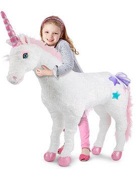Kids' Plush Unicorn Stuffed Toy by Melissa And Doug