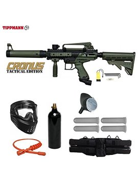 Tippmann Cronus Paintball Marker Gun Starter Package by Tippmann