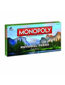 Monopoly Liberty Mountain National Parks Edition by Monopoly