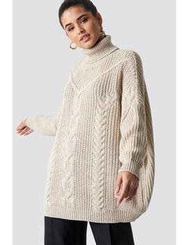 Tasseled Knitted Sweater by Trendyol