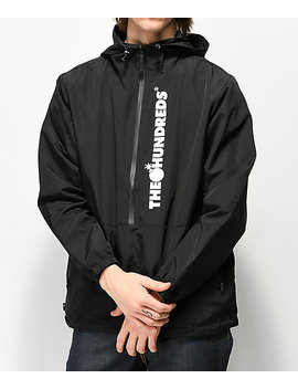 The Hundreds State Black Anorak Jacket by The Hundreds