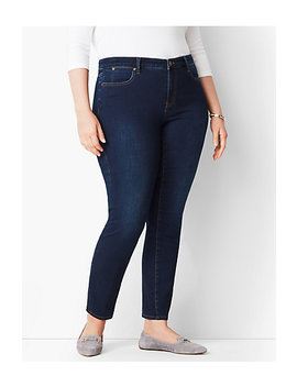 Plus Size Exclusive Slim Ankle Jeans   Indy Wash by Talbots