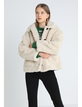 Cropped Button   Giacca Invernale by Topshop