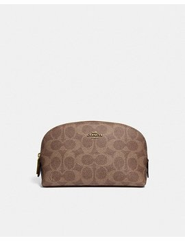 Cosmetic Case 17 In Signature Canvas by Coach