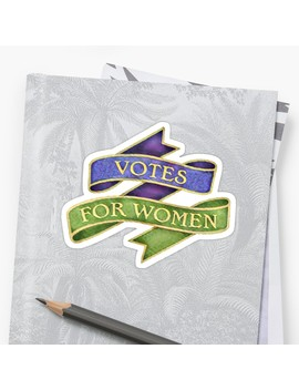 Votes For Women Suffragette Banner by Artof Paper Craft