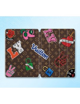 Inspired By Louis Vuitton I Pad Pro Case Smart Cover I Pad Air 2 Case I Pad 2017 Case I Pad Mini 4 Case Smart Case I Pad 2018 Case I Pad Air 1 by Etsy