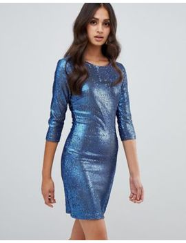 Girls On Film Sequin Bodycon Dress by Girls On Film