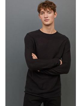 Krausrechtspullover by H&M