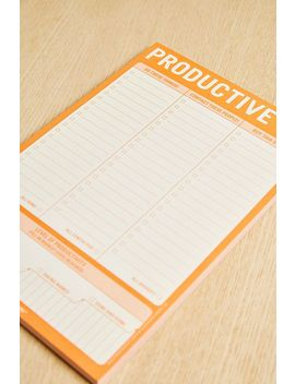 Knock Knock Productive Af Notepad by Knock Knock
