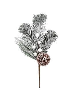 Snow Berry & Pinecone Branch Pick By Ashland® by Ashland