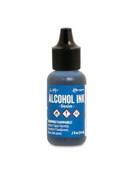 Ranger   Tim Holtz   Alcohol Ink   Denim   Blue by Etsy