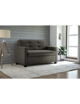 Clay Alder Home Isleton Grey Linen Twin Sleeper Sofa by Clay Alder Home