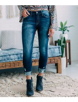 Mid Rise Ankle Skinny Jean by Kan Can Signature