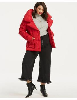 Short Duvet Style Padded Coat by Simply Be