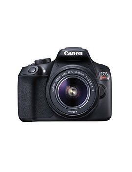 Canon Black Eos Rebel T6 Ef S Is Digital Camera With 18 Megapixels And 18 55mm Lens Included by Canon International
