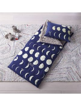 Celestial Blue Sleeping Bag by Crate&Barrel