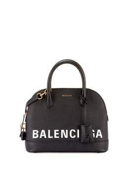 Ville Leather Top Handle Bag by Balenciaga