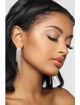 In Awe Earrings   Gold by Fashion Nova