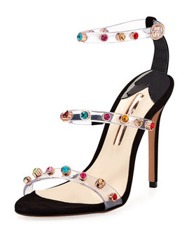 Rosalind Gem Strappy Sandal by Sophia Webster