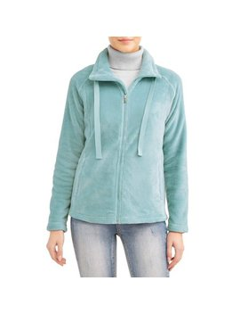 Women's Cozy Zip Up Jacket by Jason Maxwell