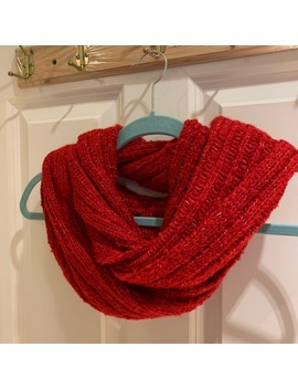 Hollister Red Circle Scarf by Hollister