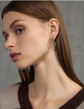 Heirloom Double Hoop Earrings by Pixie Market