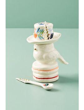 Corrine Sugar Pot & Spoon by Anthropologie
