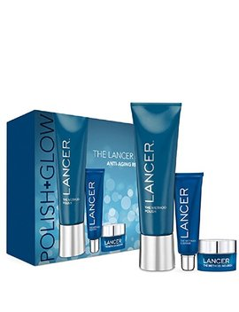 Lancer Skincare The Method Polish (120 G) & Glow Gift Set by Lancer